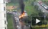 На Руставели за несколько минут сгорели три автомобиля