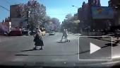 Рисковые пешеходы