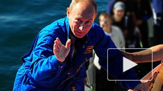 """Путин спустился на дно Финского залива к фрегату """"Олег"""""""