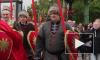 """Войска Петра I и Красная армия объединились в """"Суворовском марше"""" на Марсовом поле"""