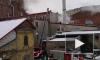 """Очевидцы: на бывшей фабрике """"Веретено"""" выгорел склад"""
