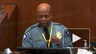 Шеф полиции Миннеаполиса заявил, что обвиняемый в убийстве Флойда нарушил инструкцию