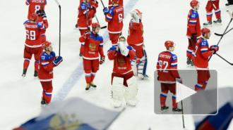 Сборная России прошла в финал ЧМ по хоккею-2014, обыграв Швецию со счетом 3:1