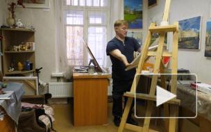 """""""У меня просто лишних пальцев нет"""": история петербургского художника Ивана Галаничева, родившегося без кистей рук"""