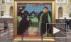 Перед Русским музеем появилась шоколадная копия картины Репина