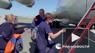 Спецборт МЧС вылетел для эвакуации пострадавших в Казани