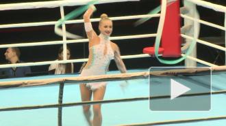 Гимнастки блеснули на боксерском ринге