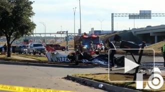 В Техасе разбился небольшой самолет