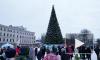 Видео: главный Дед Мороз страны зажег новогоднюю ёлку в Выборге