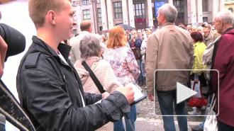 Оппозиция отметила день рождения Михаила Ходорковского. Задержанных не было