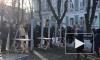 Видео протеста: на Украине второй день продолжаются массовые митинги