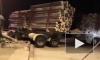 В Сыктывкаре лесовоз протаранил пассажирский автобус