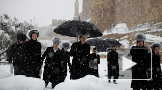 Россия купит снег у Израиля для олимпиады в Сочи