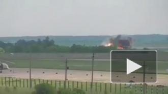 Опубликовано видео крушения АН-26 с курсантами