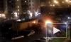 Появились фото и видео крупного автомобильного пожара в Кудрово