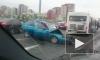 Пьяный водитель на ВАЗ-2110 сбил ребенка и уехал с места ДТП, а потом влетел в автобус на Дунайском проспекте