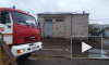 На территории металлобазы в Петербурге загорелся ангар