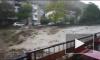 Видео из Туапсе: Бурные потоки воды смывают город