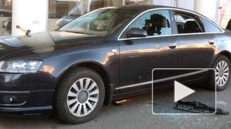 Гараж News: В Купчино Audi изрубили двумя топорами
