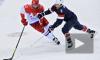 Президент Путин ждет победы сборной России по хоккею; на стадионе пока ничья