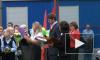 Звезды хоккея Малкин, Ковальчук и Касатонов построились в линейку вместе со школьниками