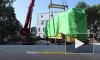 Видео: Выборге установили памятник трамваю
