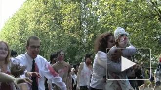 Парад Зомби на Крестовском острове - молодежный флеш-моб