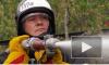 """МЧС провело масштабные пожарные учения на станции """"Лужайка"""""""