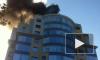 Пожары в «Тряпочке» и в «дочке» Газпрома омрачили петербургский вечер
