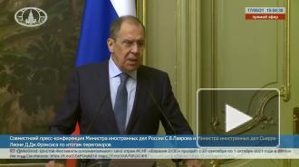 Лавров: РФ предложила провести встречу военных экспертов стран Арктического совета