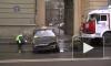 Такси столкнулось с «Toyota» и «Mercedes», потеряло колесо и сгорело