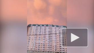 В Приморском районе заметили облака-мамматусы