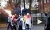 Олимпийский факел взорвался в руках у факелоносца