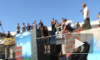На время соревнований по паркуру на «Юноне» отменили закон всемирного тяготения