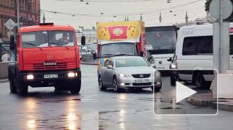 Площадь Труда вернулась к петербургским автомобилистам