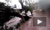 Ураган в Краснодарском крае 24 сентября 2014, фото и видео которого попали в Сеть, поставил под угрозу жизни детей