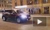 В Петербурге столкнулись две иномарки: одна из них задела пешехода