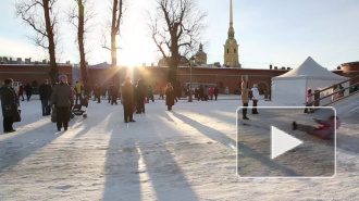 У Петропавловки святой праздник отметили гуляниями