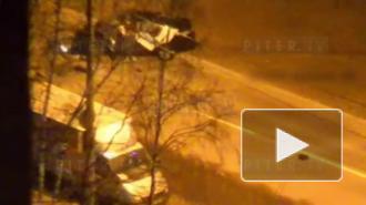 На улице Димитрова разбился каршеринг: видео