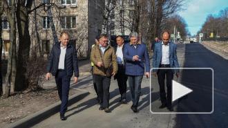 Ильдар Гилязов лично проконтролировал ремонт дорог в Выборге