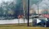 В Москве загорелся склад с газовым оборудованием в автосервисе