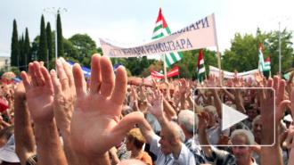 Абхазия сегодня: оппозиция продолжает настаивать на отставке президента