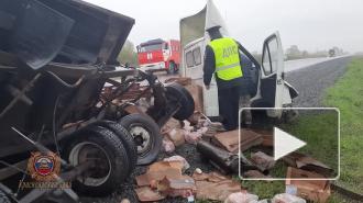 ДТП в Красноярском крае погибли пять человек