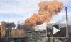Появилось видео загадочного оранжевого дыма над металлургическим комбинатом Липецка