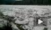 Завораживающе красивые кадры ледохода на реке Мана появились в интернете