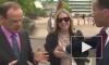 Конфуз в прямом эфире: ведущий BBC ущипнул прохожую за грудь