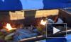 В Петербурге сожгли более 116 кг санкционного сыра и колбасы