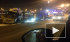 В ДТП с перевертышем на Дворцовой набережной пострадал полицейский