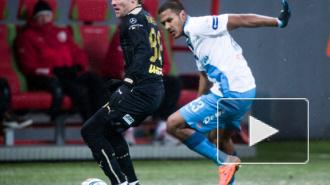 Зенит обыграл Рубин на выезде с минимальным счетом 1:0