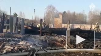 В Свердловской области в результате пожара погибли пять детей